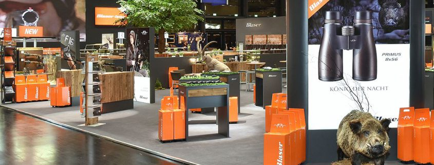 Blaser Messe Exhibition Paper Promotion Go-Trolleys